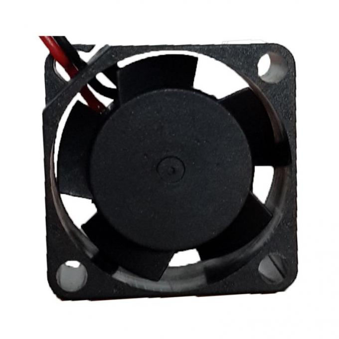 Plastic 25mm DC Small Cooling Fans High Temperature 10mm Thick