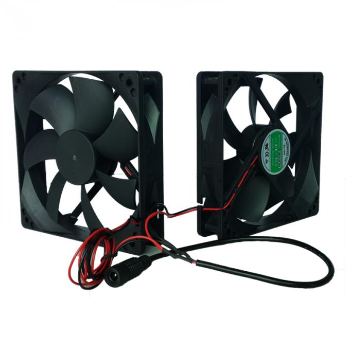 Electronic Equipment Cooling Fans Computer Case 12V Cooling Fan 120mm X 120mm X 25mm