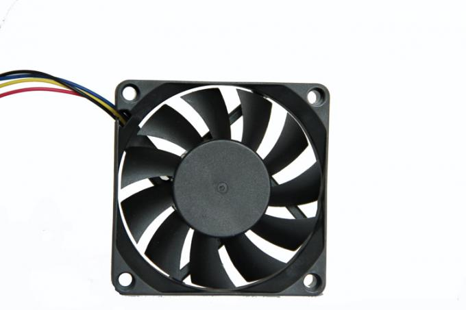 7 / 9 Blade Brushless Electronic Equipment Cooling Fans Axial DC Fan With USB