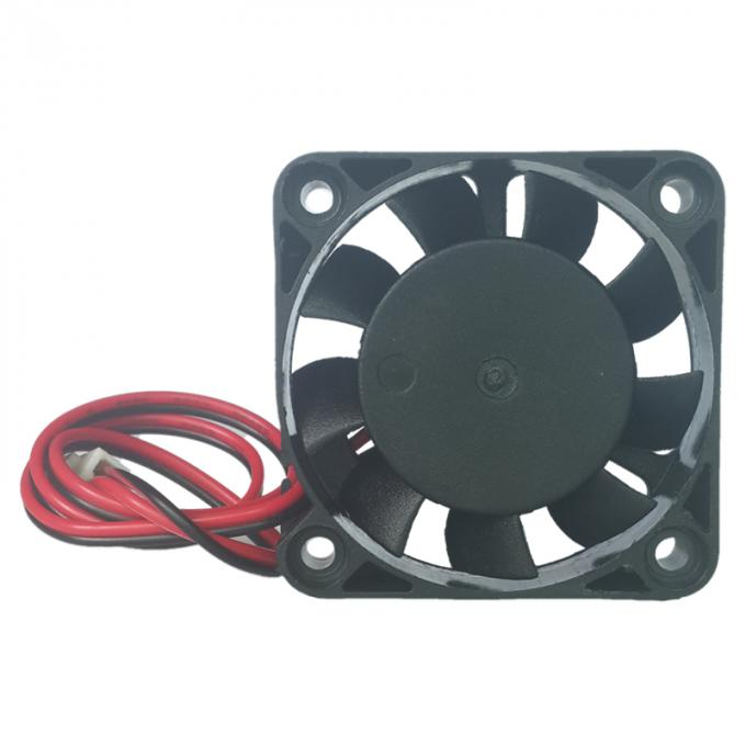 Portable plastic small cooling fan , dc axial compact fan 40mm x 40mm x 15mm
