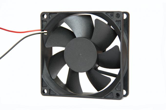 High air volume DC 12V high temperature exhaust fan for computer cases 80x80x25mm