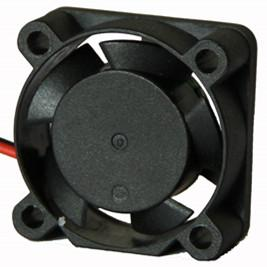 Notebook CPU Cooling Fan , Small DC 5V 12V Cooling Motor Fan 25 x 25 x 10mm
