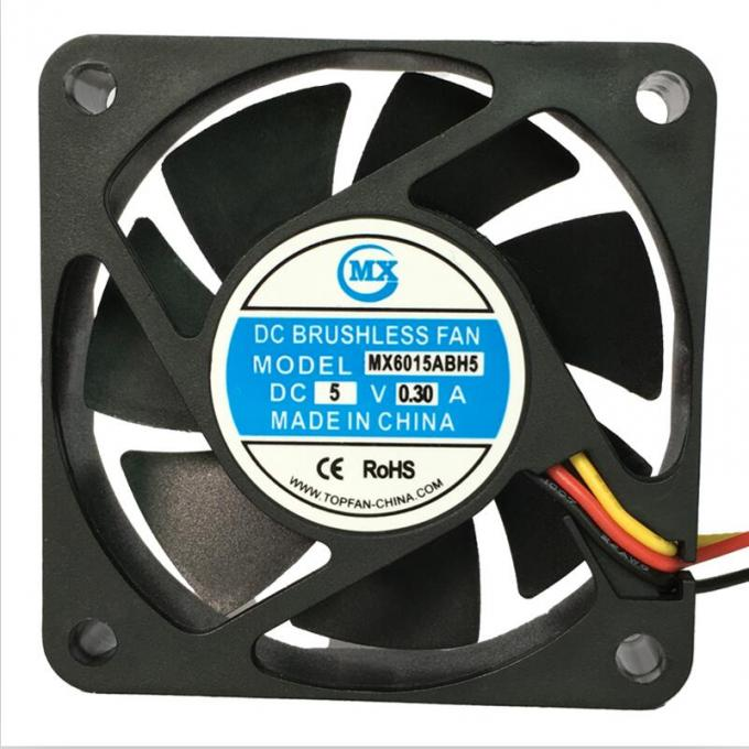 60Mm x 60mm x 15mm battery cooling DC Axial Fans 12V 24V CPU cooler accessories