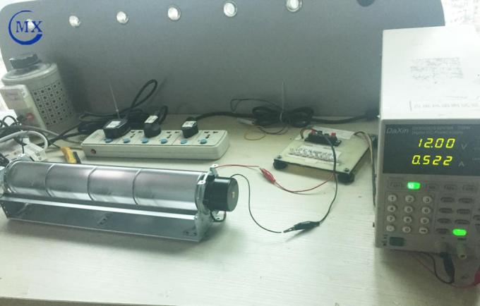 Air cooling 12V dc motor cross flow fan for refrigerator and log burning Household electronic