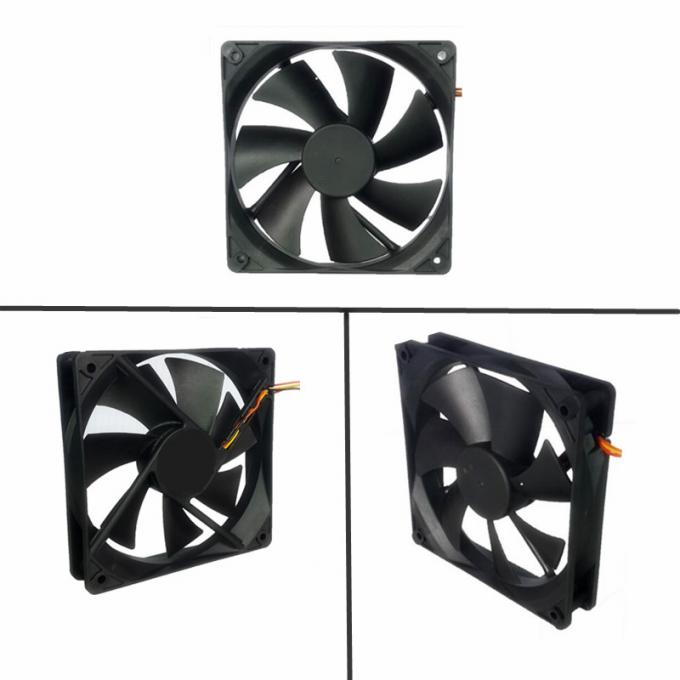 Shenzhen Blushless Dc Fan 12025 With PWM FG RD Plastic Waterproof Small Fan Used For Computer Case / Chassis