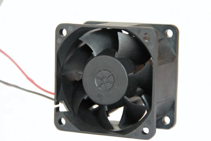 60 x 60 x 38 mm / 12V ball bearing small electric cooling fans with IP58 IP68 FWM Function
