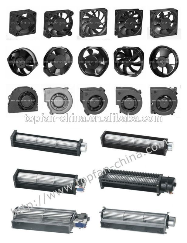 DC High temperature Fridge Fan 30*150mm