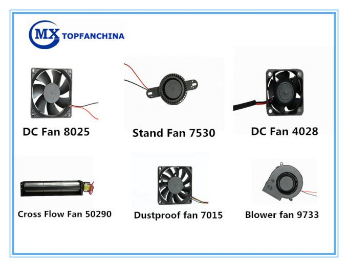 12V Small Cooling Fan 81Mm Round Fan 81 X 37 Mm For Sweeping Machine