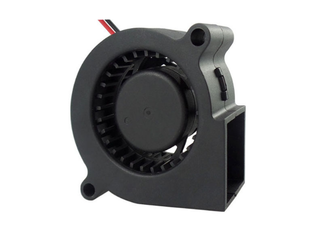 CE ROHS Approve 50Mm DC Motor Fan High Flow For Humidifier / Dehumidifier