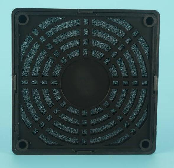 Steel / Plastic Air Conditioner Fan Guard Smooth Surface Corrision Resistant