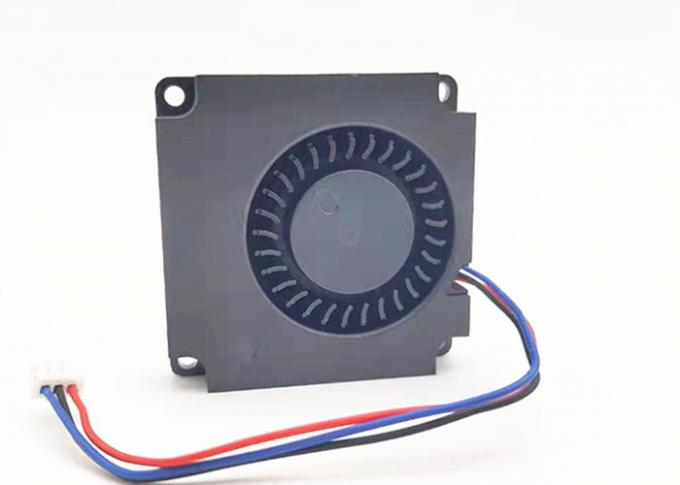 Small DC Blower Fan 5000RPM 12v Square FG Function 0.07-0.18A With Plastic Frame