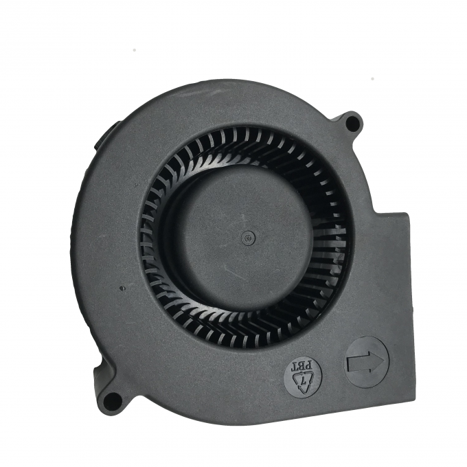 Dual Ball Bearing 12 Volt Dc Blower Fan PBT Frame 97 X 94 X 33mm For Humidifier