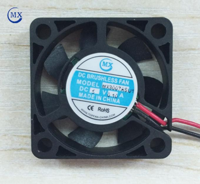 Mini Air Conditioner Component Cooling Fan 12v Dc 30*30*7mm Size For Cars