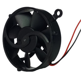 China Electronic Round Desktop Electronics CPU Cooling Fan Black Mini Size 30mm X 8mm 5V supplier