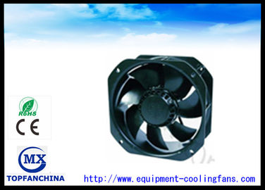 China 9 Inch Electronic Cooling Fans , Black 12V Cooling Fan 225mm X 225mm X 80mm supplier