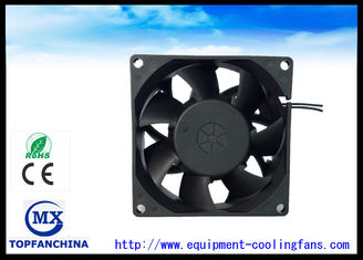 China 2 . 3W Industrial Axial Fans / Metal Frame Vane Axial Fan 80mm X 80mm X 38mm supplier
