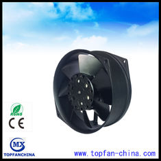 China Waterproof Black 220 Volt AC Cooler Fan  Small Ventilation Fans 172mm 170mm supplier