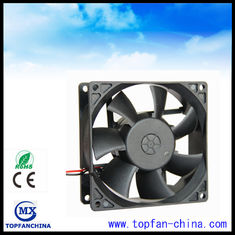 China Low Noise Waterproof Ball Bearing DC Motor Fan With 6000 Rpm Speed supplier