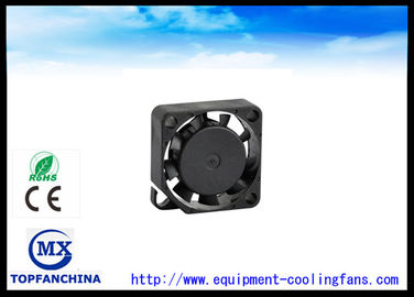 China Black High Air Flow Mini Dc Brushless Fan 5V / Radiator Axial Computer Cooler Fan supplier