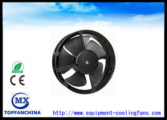 China Plastic Impeller Brushless Cooling Fan 8.7 Inch AC Exhaust Cooler Fan supplier