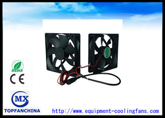 China Electronic Equipment Cooling Fans Computer Case 12V Cooling Fan 120mm X 120mm X 25mm supplier
