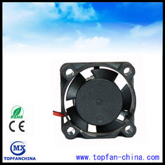 China Plastic 25mm DC Small Cooling Fans High Temperature 10mm Thick supplier