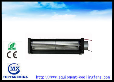 China 12v / 24v Crossflow Fan For Elevator Or Refrigerator , 40mm Diameter supplier