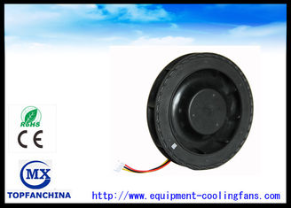 China Portable 120mm Round 12v 24v 48v DC Centrifugal Fan 120mm X 25mm supplier