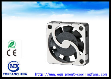 China Mini Black 3D Printer Electric Cooling Fans High Speed And Low Noise supplier