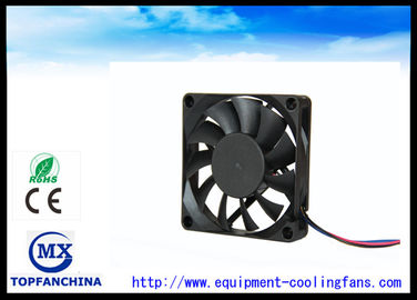 China Reversible Plastic Computer Cooling Fans With Positive & Negative Function supplier