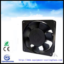 China 110v / 220v To 5v / 48v EC Axial Fan Plastic Metarial Audio Cooling Fans supplier