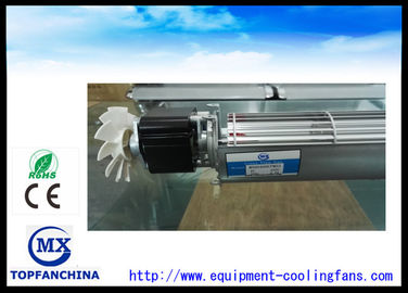 China 60mm x 60mm x 400mm AC Cross Flow Fans Elevator Cooling Small Motor supplier