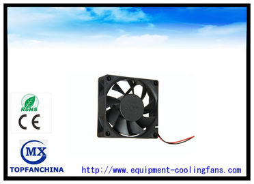 China Industrial Use DC Brushless Axial Cooling Fan 12V / 24V 70mm X 70mm X 15mm supplier