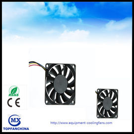 China 7 / 9 Blade Brushless Electronic Equipment Cooling Fans Axial DC Fan With USB supplier