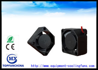 China Plastic Low Noise Axial Fan Motor  / 12 Voltage Mini Dc Cooling Fan supplier