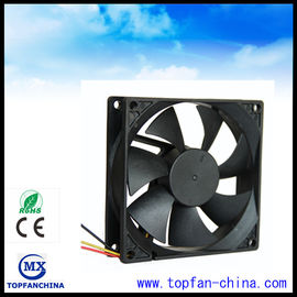 China High Air Flow Axial Fridge Cooling Fan , 92mm 24V / 48V Explosion Proof DC Axial Fans supplier