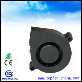 China 51mm Plastic DC Centrifugal Fan  5v 12v 24v Black For Car with Dual Ball Bearing supplier