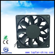 China High Speed Industrial Fridge Cooling Fan Brushless DC Fans With 7 / 9 Blade supplier