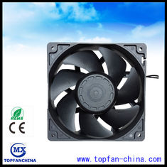 China Square 120mm x 38mm Industrial Ventilation Fans , Sleeve Bearing AC Cooling Fan supplier