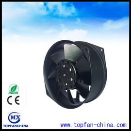 China Black 220V AC Cooler Fan Whole House Ventilation Fans 170x150x55mm supplier