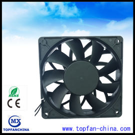 China High Speed PWM / FG / CPU 120mm DC Axial Industrial Ventilation Fans Lead wire supplier