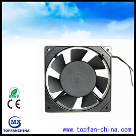 China 120mm x 25mm 7 Blade AC Brushless Fans Electronic Equipment Cooling Fans supplier