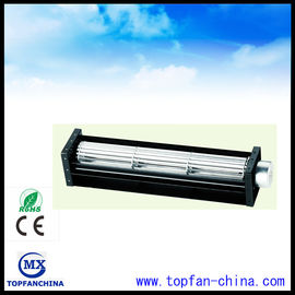 China Aluminum Painted 12V 24V DC Cross Flow Fan 40mm x 190mm For Medical Equipment supplier