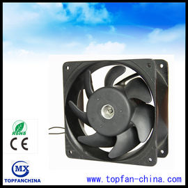 China Industrial Plastic Impeller 220 Volt AC Ventilation Fans With Aluminum Frame supplier