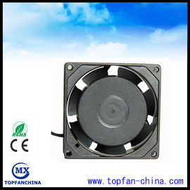 China 80mm 110V - 120V Equipment Cooling Fans / 3.1 Inch AC Cooling Motor  Fan 80 ×80 ×25mm supplier