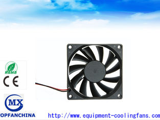 China 80mm DC 5V 12V 24V 10mm Thick CPU Cooling Fan Industrial 80 x 80 x 10mm supplier