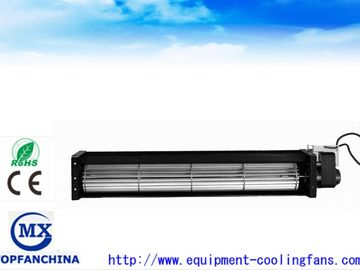 China 12V 24V 90mm 150mm Tangential Sleeve Bearing Cross Flow Fan for Air Condition supplier