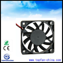 China 60mm 5V / 12V DC Axial CPU Cooling Fan With Die Cast Aluminum Frame supplier
