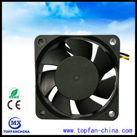 China High Speed Axial 12V 24V CPU Cooling Fan With Terminal / Lead Wire supplier