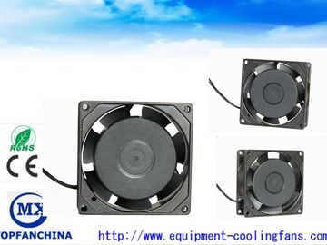 China Computer CPU Ball Bearing 7 Blade EC Axial Fan For Network Communications supplier